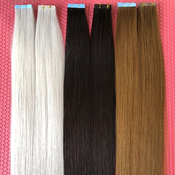 Jj Hair Nyc Accessories Tape In Extensions 60 6 22 Poshmark